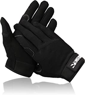 Undersun Workout Gloves - Full Palm Protection & Extra Grip, Gym Gloves for Resistance Bands, Weight Lifting, Training, Fitness, Exercise (Men & Women)