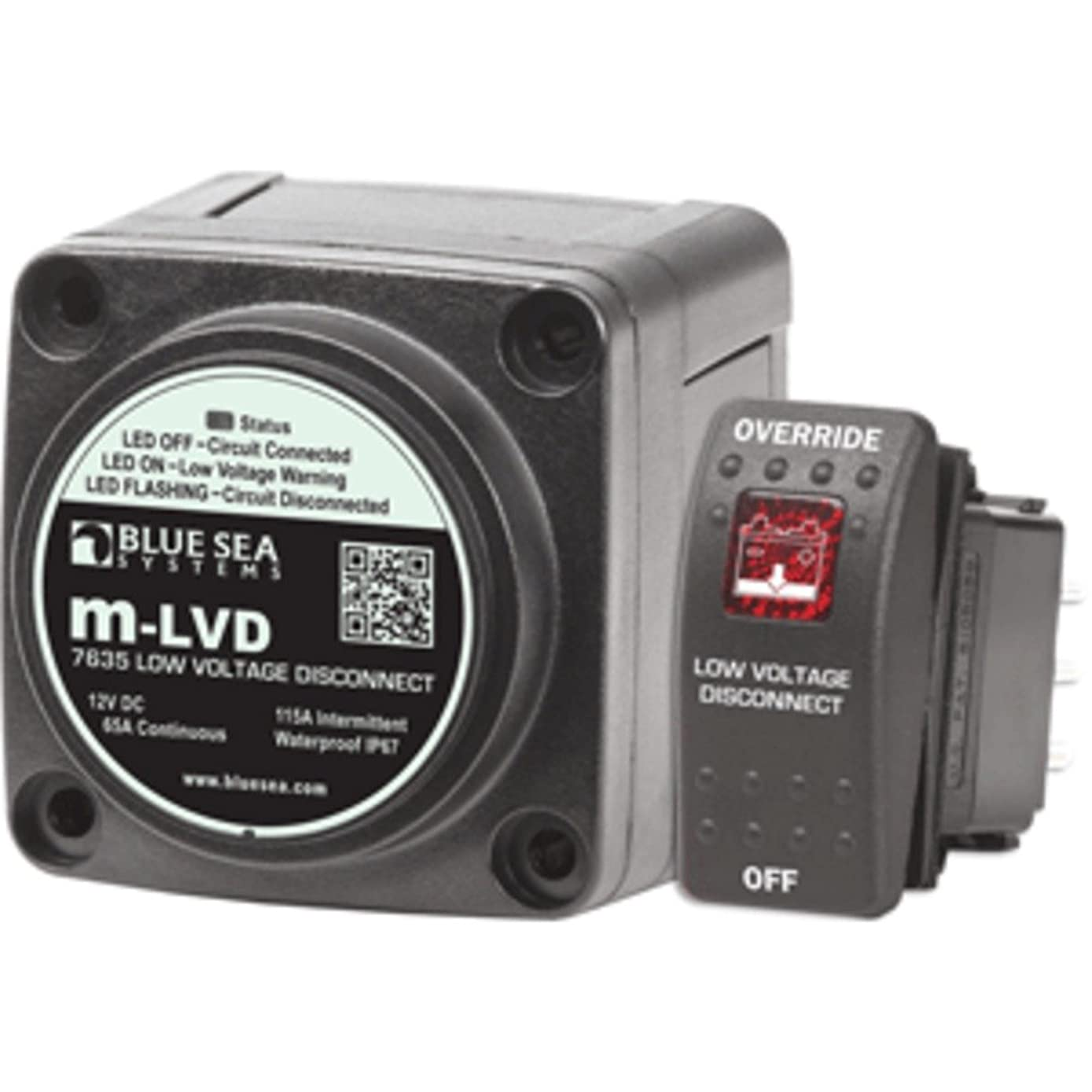 Blue Sea 7635 m-LVD Low Voltage Disconnect Marine , Boating Equipment