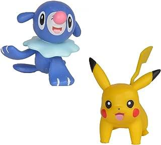 Bandai - Pokémon - Pack de 2 figurines 3-5 cm - Pikachu & Otaquin - 81207