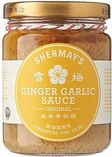 Shermay's Singapore Fine Food Ginger Garlic Sauce Dip 240ml