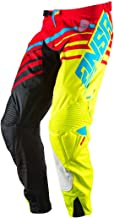 Answer Racing A17 Alpha Pants Red/Acid/Black 36