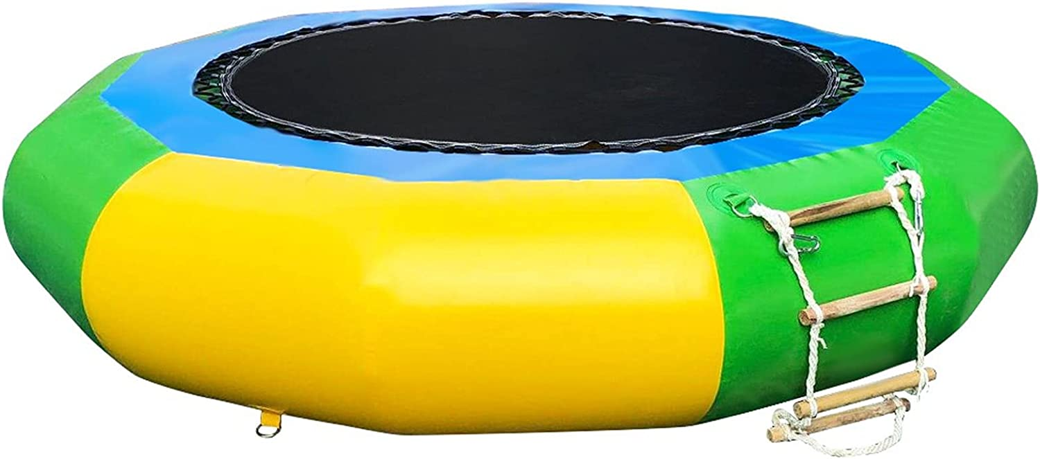 DFDGBD 6.5 FT Inflatable 2021 spring and summer new Water Boun New product Round Jump Trampoline