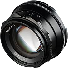 7artisans 35mm F/1.2 Manual Focus Lens for Fuji X Mount Large Aperture Prime APS-C Aluminum Lens for Fuji X-A1 X-A10 X-A2 X-A3 X-at X-M1/ M2 X-T1/ T2/T10/ T20 X-Pro1 X-Pro2 X-E1 X-E2