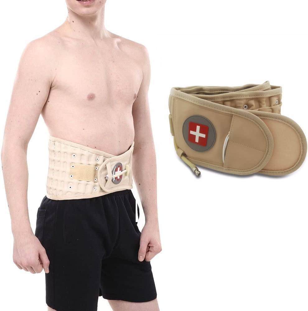 Today's only Air-o-back Air Decompression Back Belt Lumbar Support Brace Pain Virginia Beach Mall