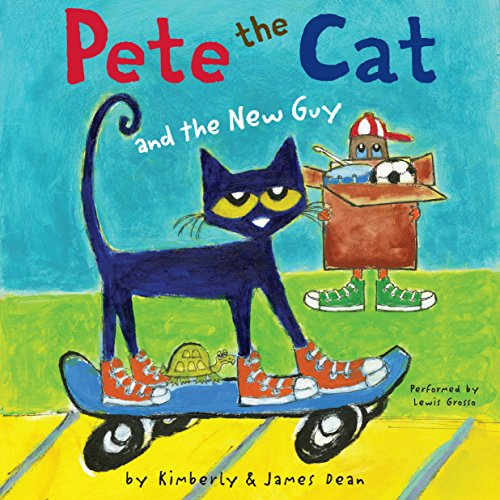 Pete the Cat and the New Guy cover art