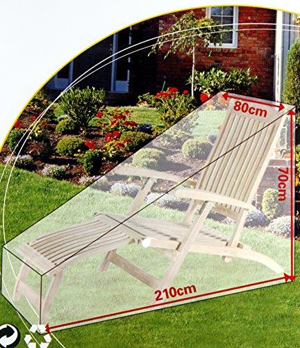Housse de protection chaise longue de jardin Lot de 2 – K & B Meubles de jardin bain de soleil Distribution Bâche Couverture 137