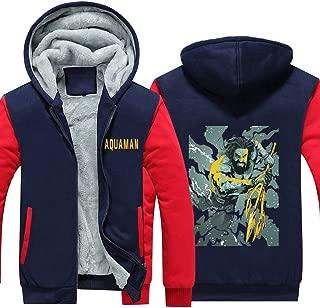 HPY Men's Cosplay Hoodie Costume Sweatshirt AQM Coat Jacket Christmas Halloween