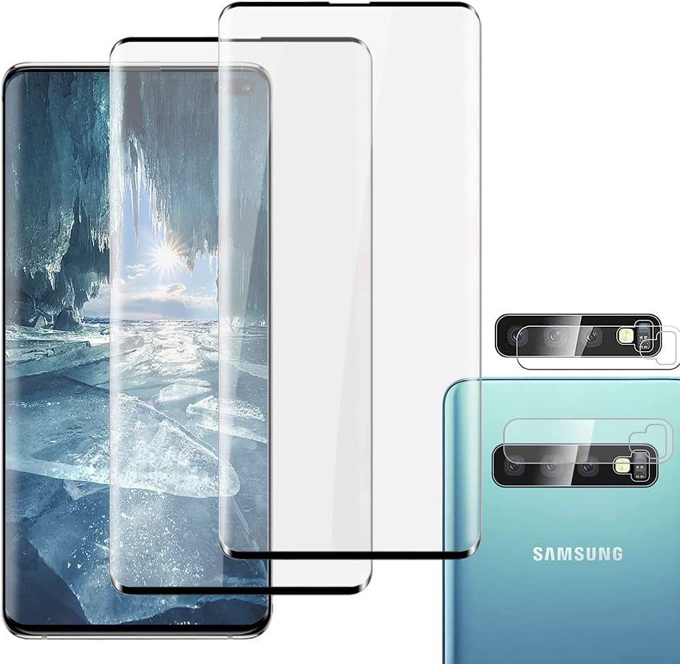 2 + Lens Protector Galaxy S10 Cle HD Plus shopping Max 89% OFF Screen -