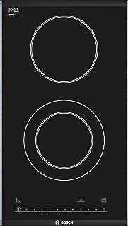 Bosch PKF375N14E Plaque de cuisson électrique / 30,6 cm/Combinable avec plaques vitrocéramique au design confortable / 2 n...