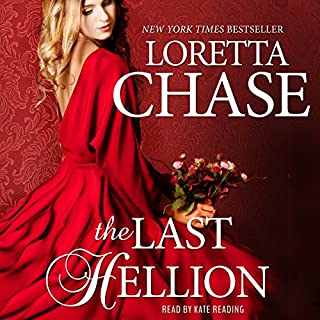 The Last Hellion audiobook cover art