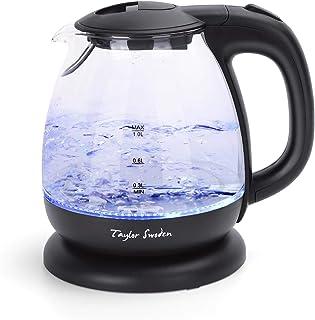 کتری برقی با دمنوش چای ، کتری کوچک چای برقی با عملکرد گرم در خانه و محل کار ، بلک تیلور سوودن