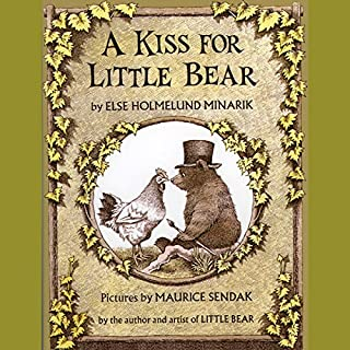 A Kiss for Little Bear audiobook cover art