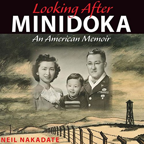 Looking after Minidoka audiobook cover art