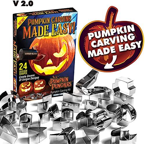 Pumpkin Punchers Pumpkin carving kit for kids | Pumpkin...