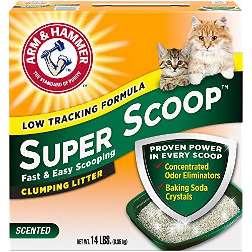 Arm & Hammer Super Scoop Clumping Litter Fresh Scent 14lb