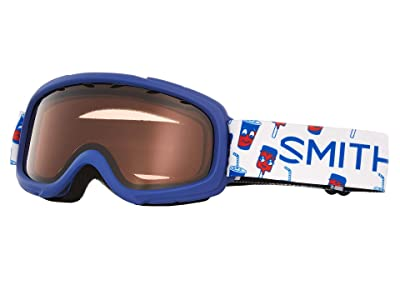 Smith Optics Gambler Goggle (Youth Fit) (Blue Showtime/RC36/Extra Lens Not Included) Goggles
