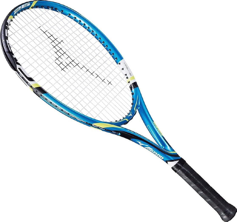 優先権体塗抹MIZUNO(ミズノ) ジュニア用 テニスラケット F-AERO 25 / 26 ガット張上げ済み 63JTH