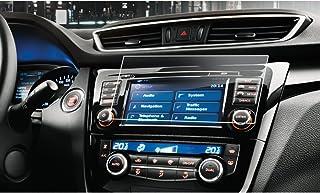 LFOTPP Nissan Qashqai J11 7 Zoll Navigation Schutzfolie   9H Kratzfest Anti Fingerprint Panzerglas Displayschutzfolie GPS Navi Folie