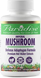 Sponsored Ad - Paradise Herbs - Imperial Mushroom - Defense Adaptogen Formula | Supports Total Immune Enhancement + Longev...