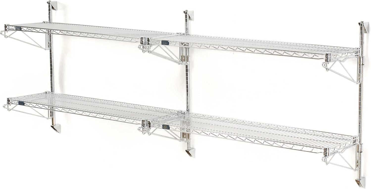 Nexel Wall Mount Wire 2-Shelf Add-On Unit x San shopping Jose Mall 72