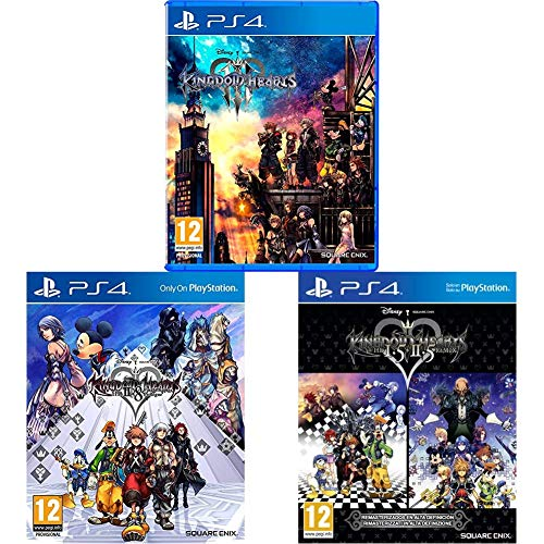 Kingdom Hearts 3 - PS4 + Kingdom Hearts 2.8 Final Chapter Prologue + Kingdom Hearts HD 1.5 + 2.5 ReMIX