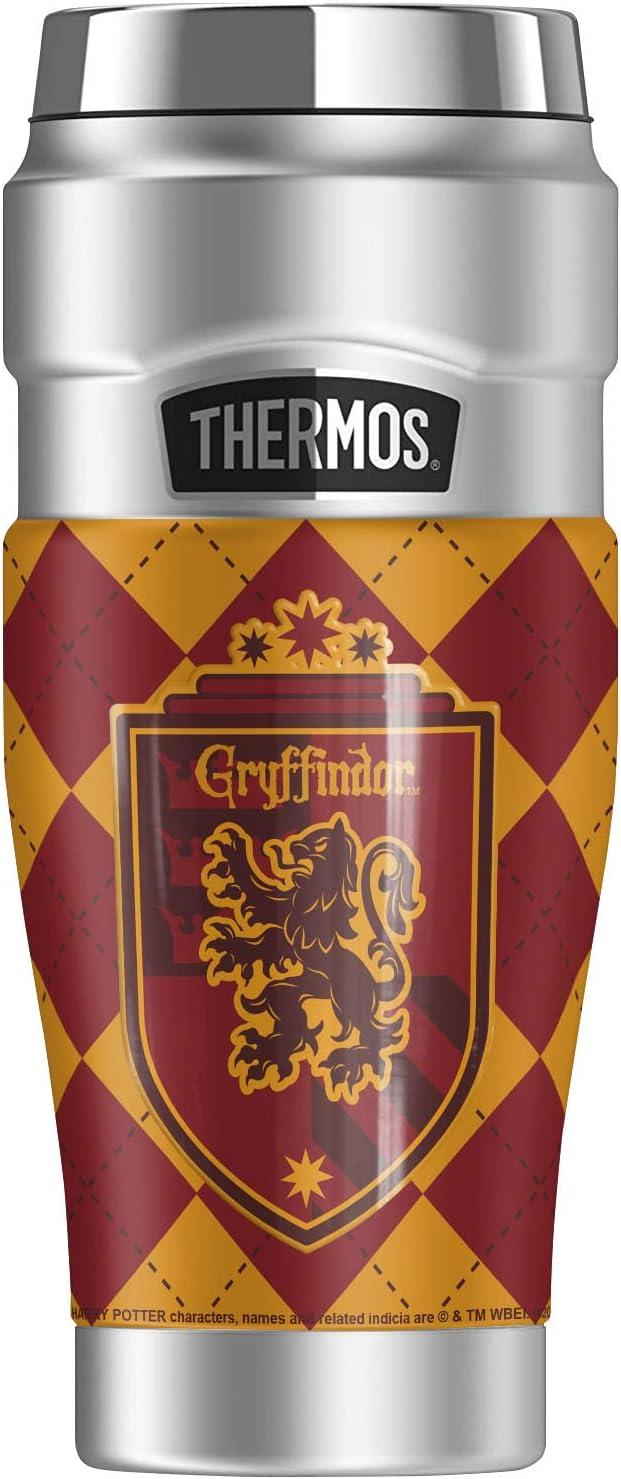Harry Potter Gryffindor Plaid ランキング総合1位 Sigil STAINLESS THERMOS Stai KING 交換無料