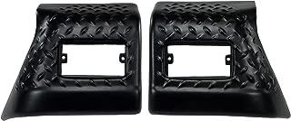 Rugged Ridge 11650.20 Black Diamond Plate Front Fender Guard - Pair