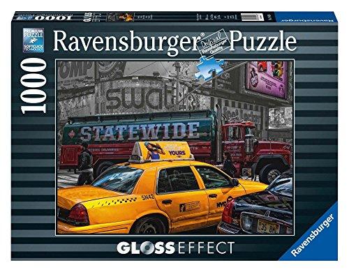 Ravensburger - 19443 - Puzzle Classique - 1000 Pièces - Glossy - Taxi New-Yorkais