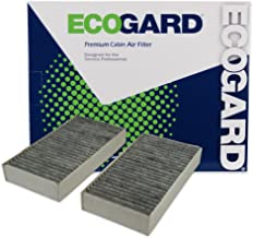 ECOGARD XC16081C Cabin Air Filter with Activated Carbon Odor Eliminator - Premium Replacement Fits Mercedes-Benz ML-series, GL-series, R-series