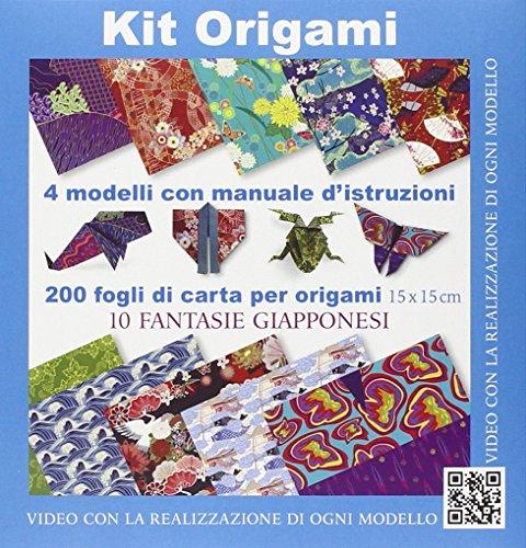 Kit origami. 10 fantasie giapponesi. Con gadget
