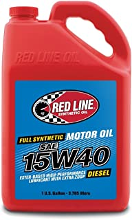 Red Line RED21405 15W-40 Diesel Oil - 1 Gallon Jug