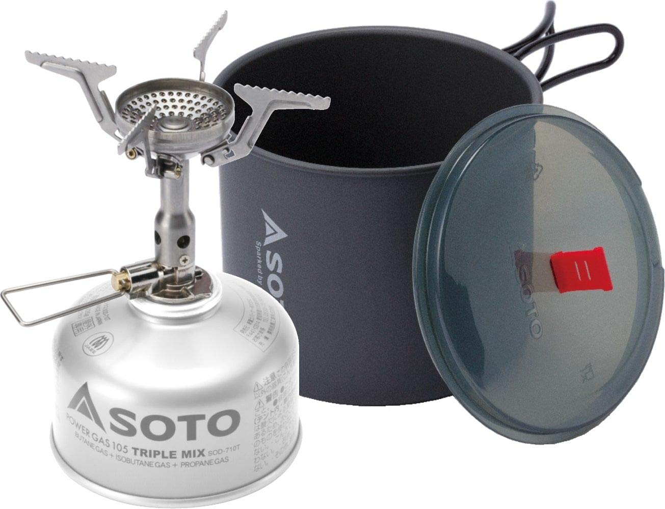 SOTO Amicus Stove with or Without Igniter