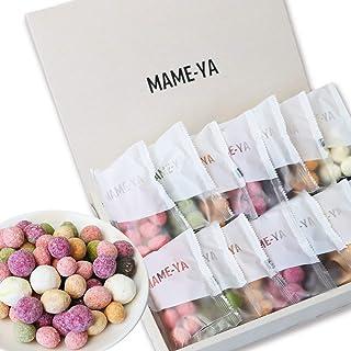 父の日 お中元 スイーツ MAME-YA(マミーヤ)  豆 お菓子 プレゼント ギフト お返し 義理 お配り カラフルお豆7種×2袋の14個セット