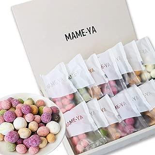 敬老の日 スイーツ MAME-YA(マミーヤ) 豆 お菓子 カラフルお豆7種×2袋の14個