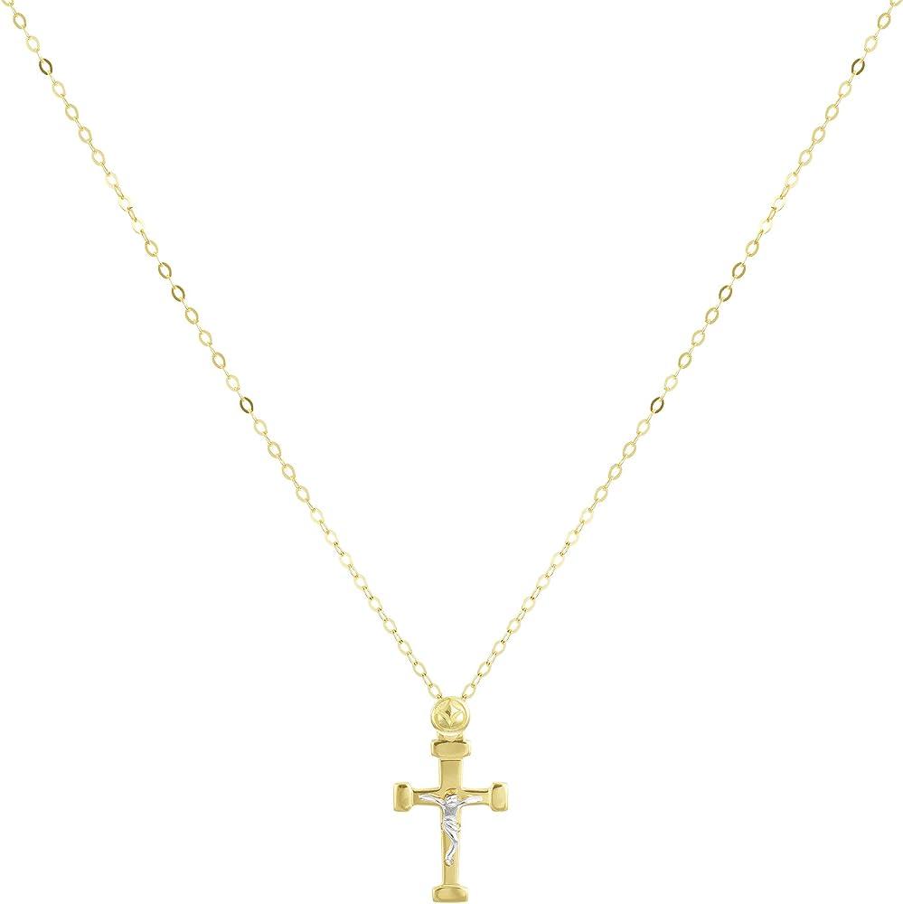Stroili collana unisex con pendente  croce in oro giallo  9 kt/375 1409501