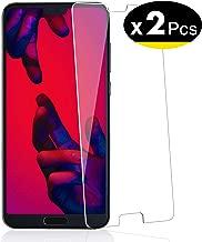 NEW'C Lot de 2, Verre Trempé pour Huawei P20 Pro, Film Protection écran - Anti Rayures - sans Bulles d'air -Ultra Résistant (0,33mm HD Ultra Transparent) Dureté 9H Glass
