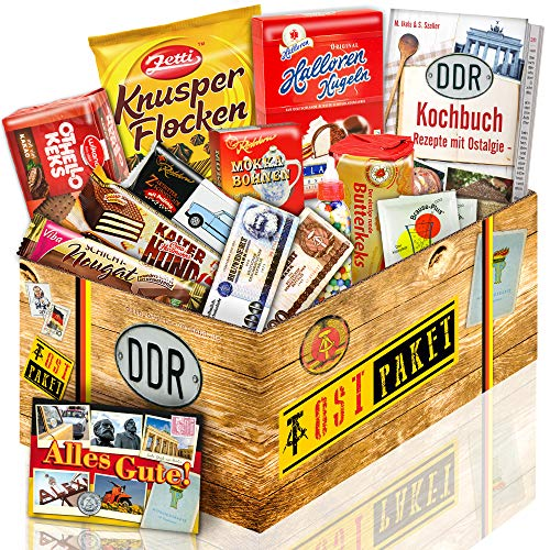 DDR Paket mit Ost Süssigkeiten - Geburtstags Geschenke für Männer