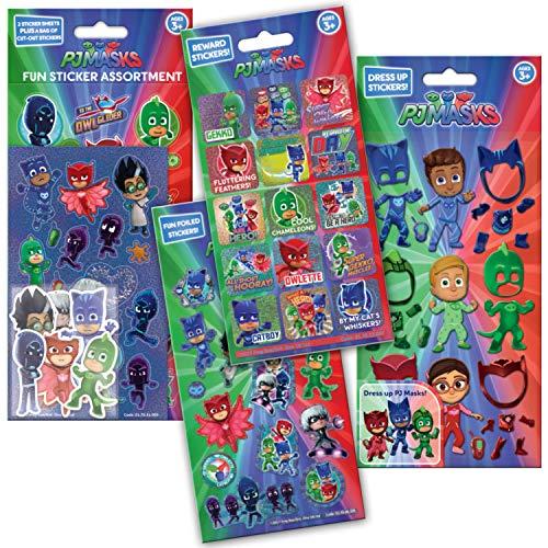 Paper Projects 01.70.24.043 PJ Masks - Pack de Pegatinas