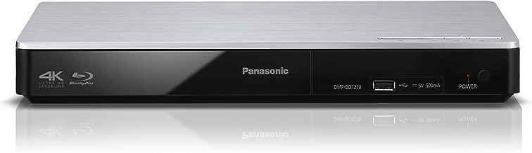 Panasonic Smart Network 4K Upscaling 3D Blu-Ray Disc & Streaming Player DMP-BDT270 (Silver),  WiFi, Miracast