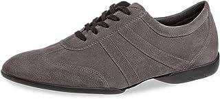 Diamant Zapatillas para hombre Dance 133-325-009, de ante gris, cómodas (anchas)