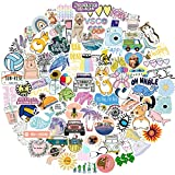 Stickers for Water Bottles, 100 Pcs Teens Vsco Aesthetic Waterproof Cute Sticker for Skateboard Luggage Car Laptop Skins & Decals