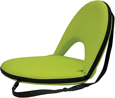 STANSPORT - Go Anywhere Multi-fold Comfy Padded Floor Chair With Back Support