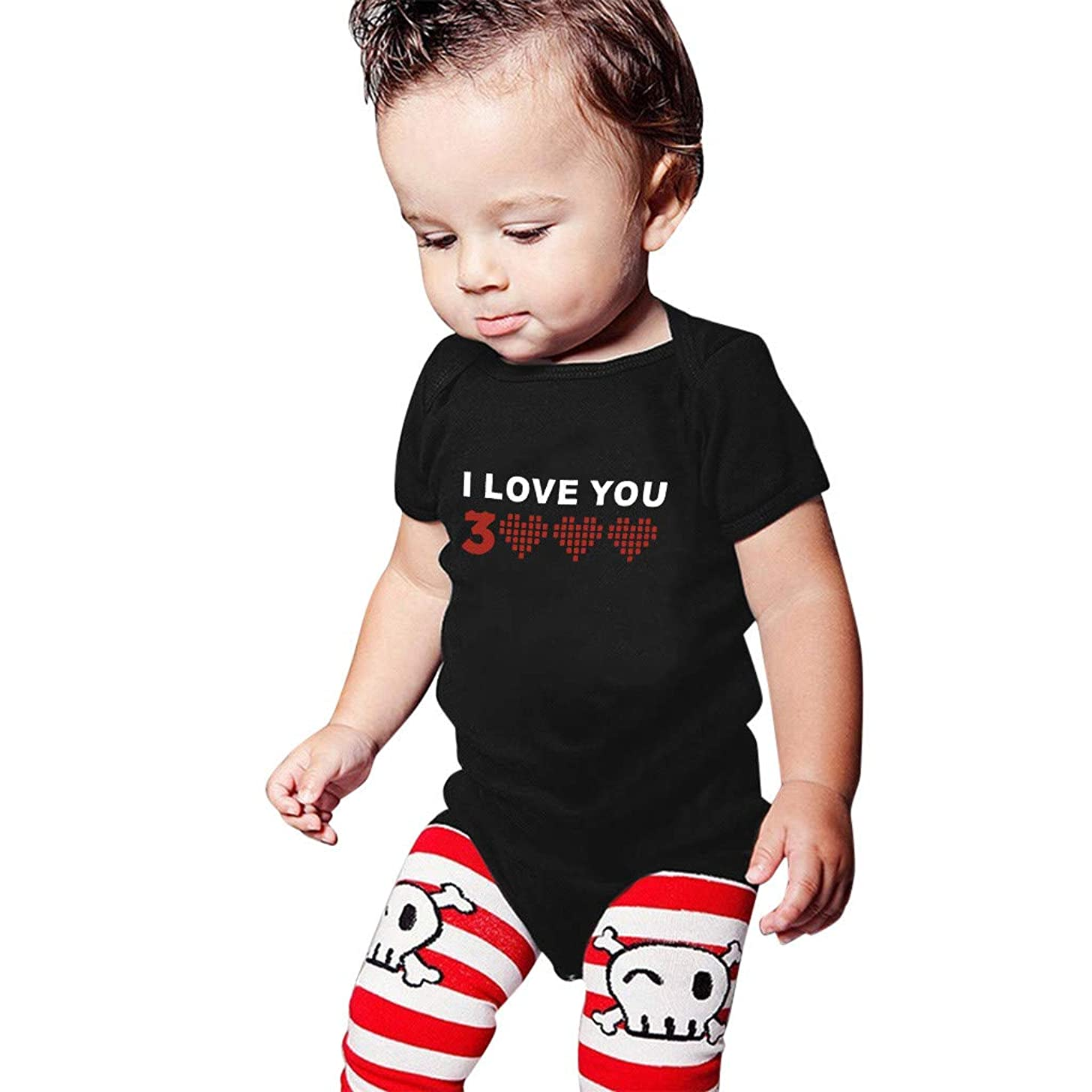 Daddy I Love You Three Thousand Baby Bodysuits Gift for Father's Day Awesome Superhero Dad Toldder T-Shirt New Baby Cotton Shirts