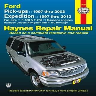 Ford Pick-ups, 1997-2004 & Expedition & Lincoln Navigator, 1997-2012 Repair Manual (Haynes Repair Manual)