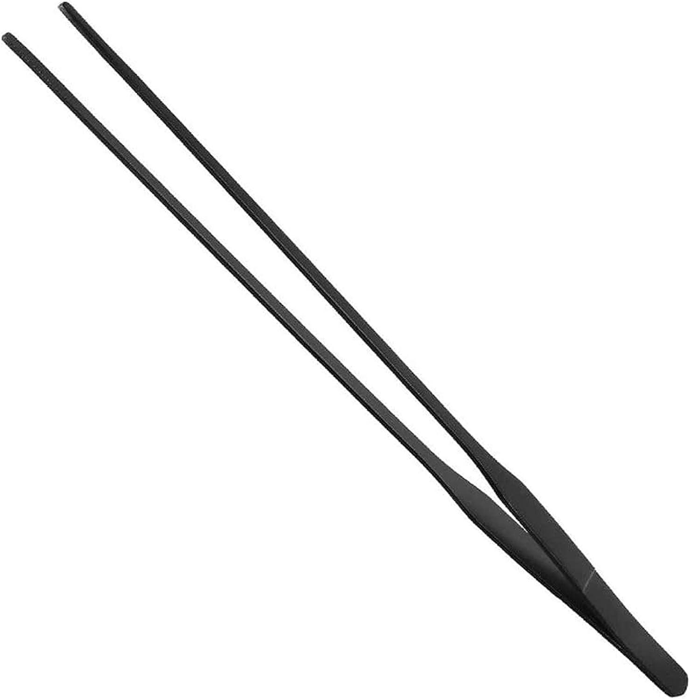 EvaGO 15 inch Black Straight Ranking TOP19 Tweezers Steel free shipping S Aquarium Stainless