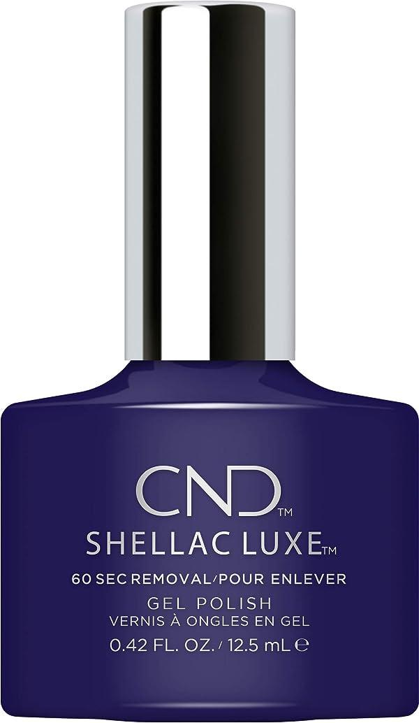 分子差し控える重要性CND Shellac Luxe - Eternal Midnight - 12.5 ml / 0.42 oz