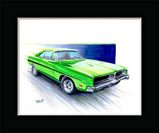 1969 DODGE CHARGER R/T from DIRTY MARY CRAZY LARRY Fine Art Print