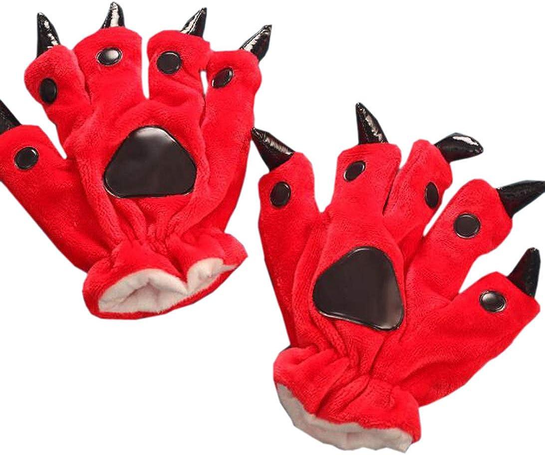 D/éguisement Gants Noir Cosplay Costume Claw Gloves Film Paws Latex Accessoires Adulte Party Halloween V/êtements 2016