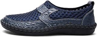 WELJFQ Grandes chaussures de sport pour homme - Séchage rapide - Chaussures d'extérieur - Chaussures de natation légères e...