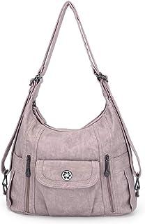 کیف دستی زنانه کیف شانه شسته شده کیف چرمی کیف چرمی چند جیبی